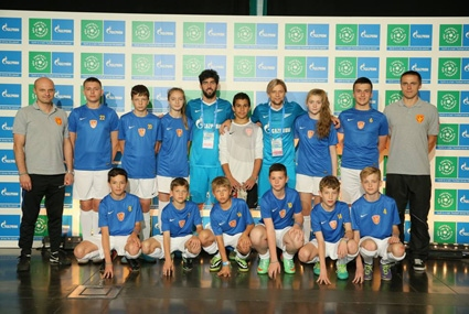 """Gazprom zgromadził setki dzieci z różnych krajów podczas II Forum """"FOOTBALL FOR FRIENDSHIP – Piłka nożna dla przyjaźni"""""""
